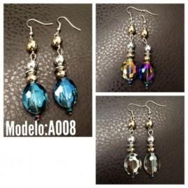 Aretes Modelo A008-BoutiqueCurvi-Aretes