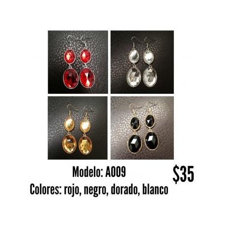 Aretes Modelo A009-BoutiqueCurvi-Aretes