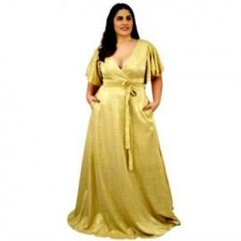 Vestido de Noche V-AU- 9228 -D-BoutiqueCurvi-COLECCIÓN DE LUJO