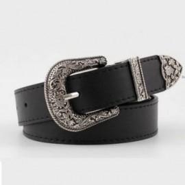 Cinturon VV Negro-BoutiqueCurvi-Cinturones