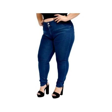 Jeans Strech tiro alto JA-RR- 6014 - DES-BoutiqueCurvi-PANTALONES