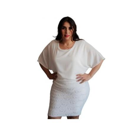 Vestido Elegante Modelo V4001-BoutiqueCurvi-VESTIDOS
