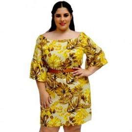 Vestido de Lino V 3235-BoutiqueCurvi-VESTIDOS