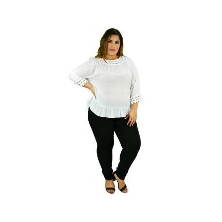 Blusa casual femenina, modelo BL5101-BoutiqueCurvi-BLUSAS Y MÁS