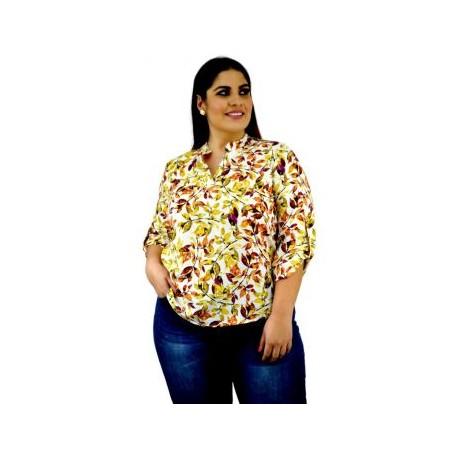 Blusa casual modelo  BL ST 5002-BoutiqueCurvi-BLUSAS Y MÁS
