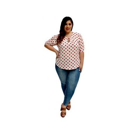 Blusa de algodon BL-ST 5113-BoutiqueCurvi-BLUSAS Y MÁS