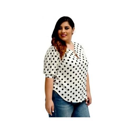 Blusa de algodon BL-ST 5113-BoutiqueCurvi-BLUSAS