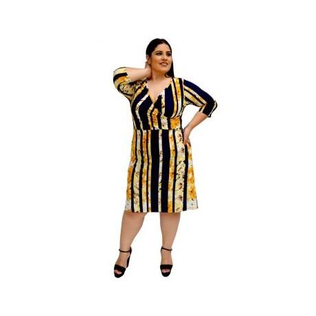 Vestido Strech V 3267-BoutiqueCurvi-VESTIDOS