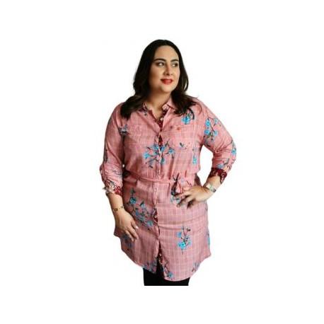 Vestido tipo blusón modelo BL1825-BoutiqueCurvi-VESTIDOS