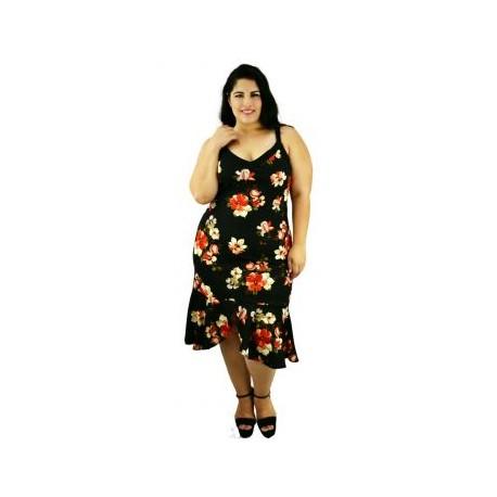 Vestido de Modelo V4181-BoutiqueCurvi-VESTIDOS Y FALDAS