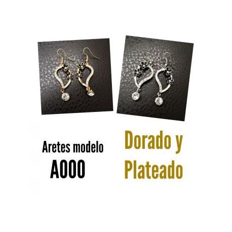 Aretes Modelo A000-BoutiqueCurvi-Aretes