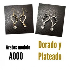 Aretes Modelo A000-BoutiqueCurvi-ACCESORIOS