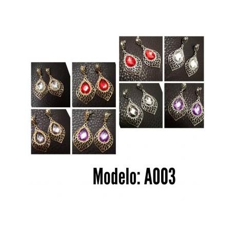 Aretes Modelo A003-BoutiqueCurvi-Aretes