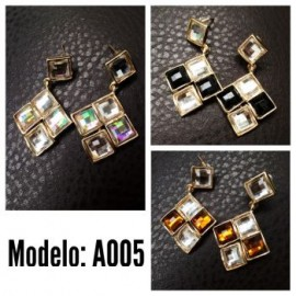 Aretes Modelo A005-BoutiqueCurvi-Aretes