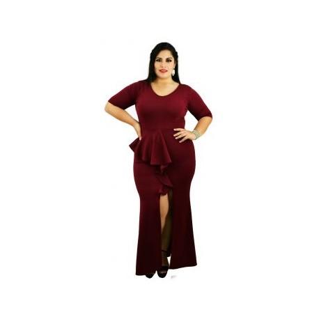 Vestido de Noche Modelo V4162-BoutiqueCurvi-VESTIDOS DE NOCHE