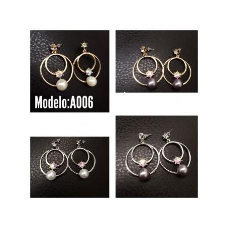 Aretes Modelo A006-BoutiqueCurvi-Aretes